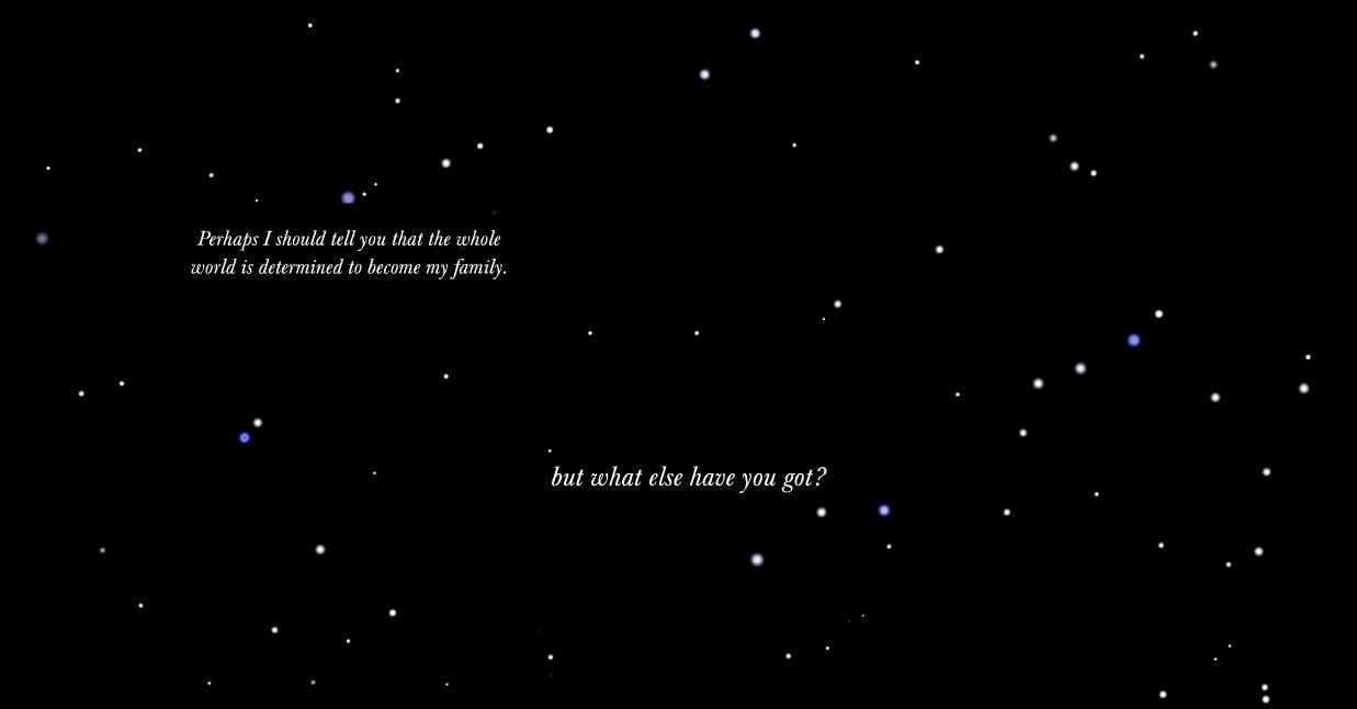 like stars in a clear night sky