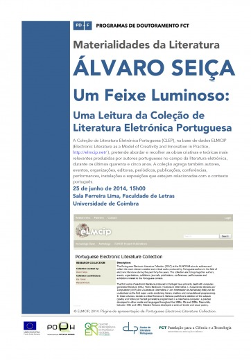 Lecture poster_PELC_University of Coimbra