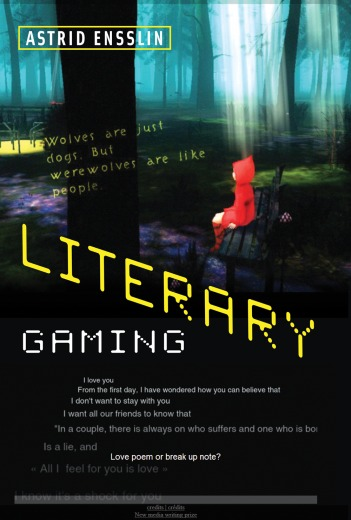 Literary Gaming book cover