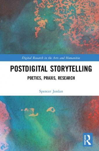 Postdigital Storytelling book cover