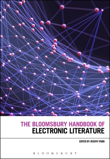 The Bloomsbury Handbook of Electronic Literature (cover)