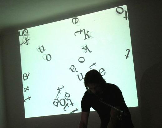 abcdefghijklmnopqrstuvwxyz || Jörg Piringer, Machfeld Studio, Vienna 2010