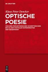 Optische Poesie (cover)