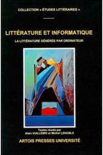 Littérature et Informatique (Book cover)
