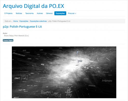 p2p kiosk at po-ex.net (screenshot)
