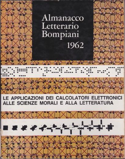 Almanacco Letterario Bompiani 1962 (cover)