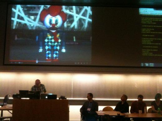 Tokyo Gargage presentation Photo by Kathi Inman Berens