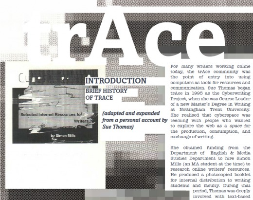 trAces: A Commemoration of Ten Years of Artistic Innovation at trAce