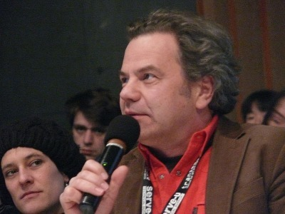 Oliver Grau at Transmediale 2010. Foto by Wikimedia Commons user Shervinafshar