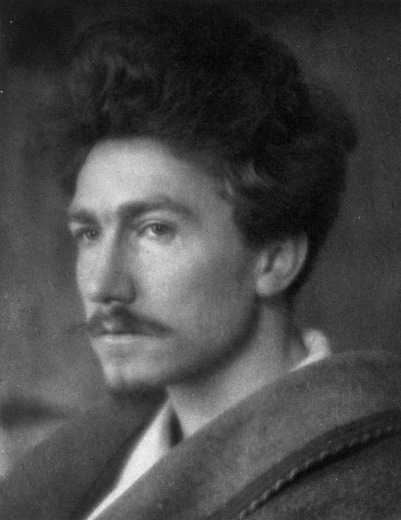 Ezra Pound photographed in 1913 by Alvin Langdon Coburn