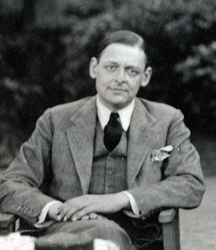 Thomas Stearns Eliot by Lady Ottoline Morrell (1934