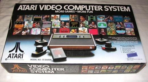 Atari console box