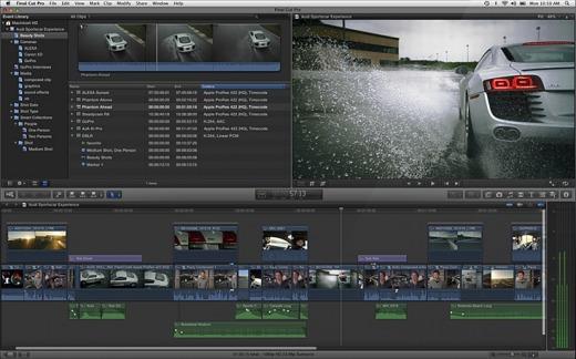 Snapshot, Final Cut Pro X