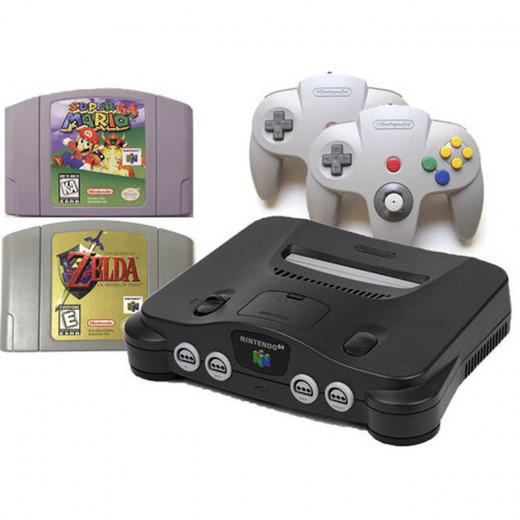 Nintendo 64 consoll