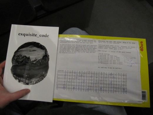 Exquisite code book with Bergen exquisite code procedures