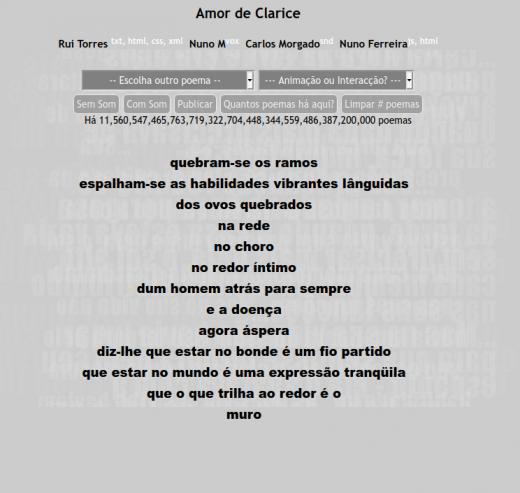 Amor de Clarice