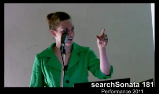 Searchsonata 181 (Performed at Filmwinter Stuttgart, January 2011)