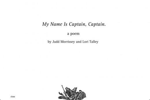 Captain title page