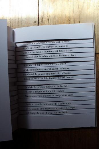 A page from Cent mille milliards de poèmes