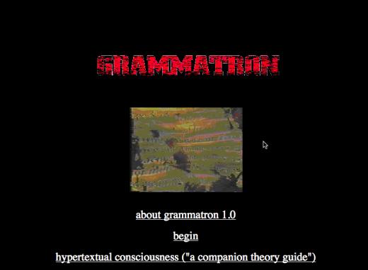 Grammatron