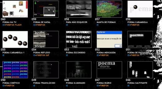 Scriptpoemas by Antero de Alda (screen shot)