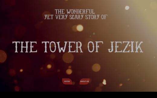 Tower of Jezik front page