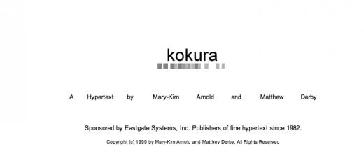 kokura title page