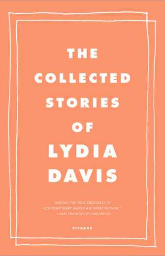 Collected Stories of Lydia Davis cover