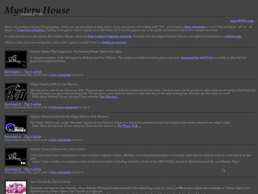 Mystery House Taken Over