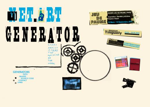 Cover screen Net Art Generator