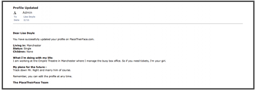 One of the first emails in the move.