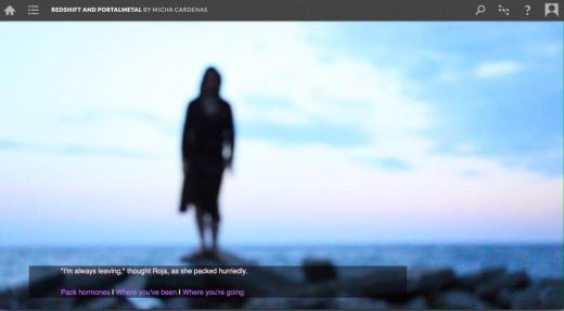 Screenshot from Redshift.