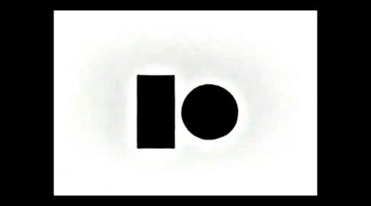 """Melo e Castro, """"Roda Lume"""" (screenshot), videopoem, 2' 43"""", 1968. Source: Melo e Castro/po-ex.net"""