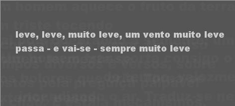 Do Peso e da Leveza by Rui Torres (screen shot)