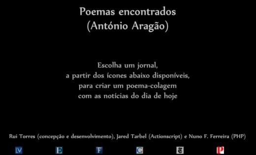 Poesia encontrada [Rui Torres]