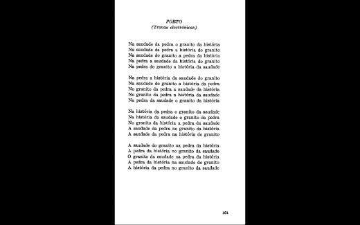 """""""Porto"""" (Literatura Cibernética 1, 1977), scanned by Rui Torres/PO.EX"""