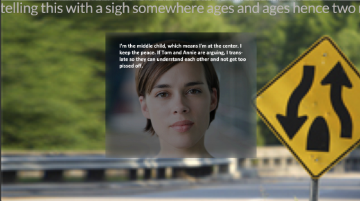 Two Roads Diverged by Alan Bigelow (screen shot)