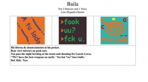 Baila by Loss Glazier (screen shot)
