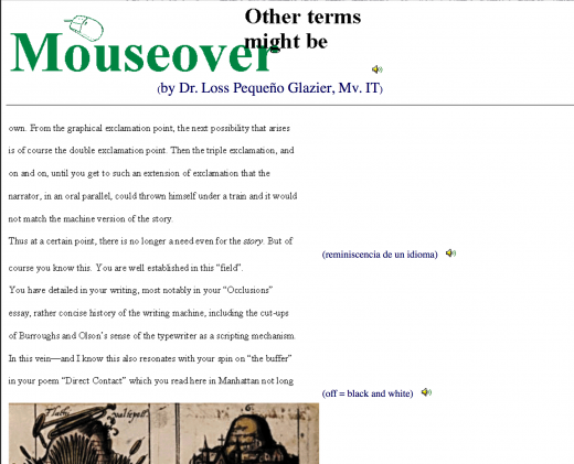 Mouseover by Glazier (screen shot)