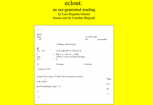 eclout by Glazier (screen shot)