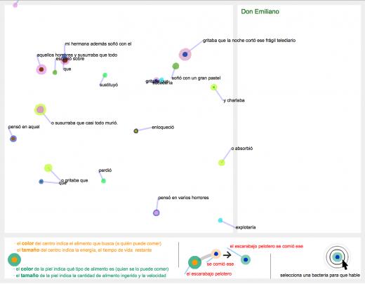 Bacterias Argentinas (screenshot)