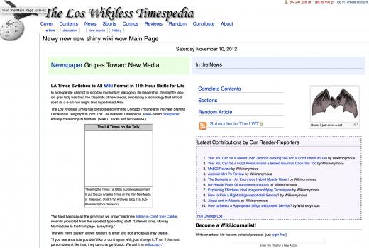 Los Wikiless Timespedia