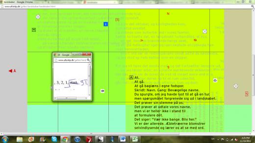 screenshot landskaber omkring digtet kompas