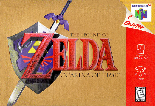 Picture displaying The Legend of Zelda Ocarina of Time Artbox