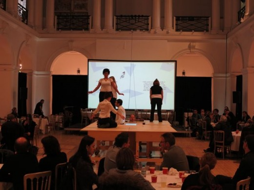 The Final Problem performance given during lunch at Remediating the Social on Nov 2, 2012