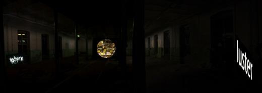 The Upside-Down Chandelier - Installation