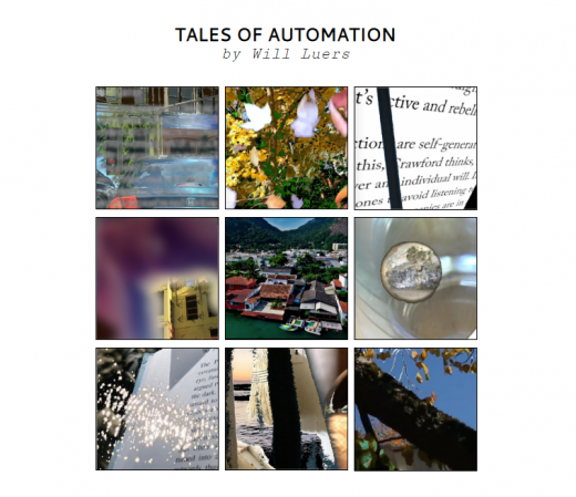 Tales of Automation main menu screenshot