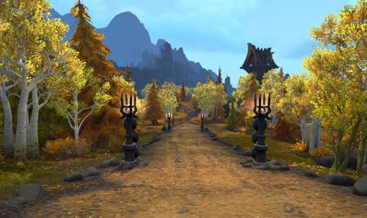 World of Warcraft Stormheim Area (from Legion)