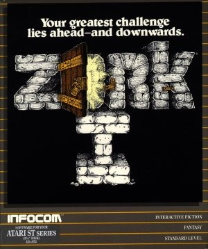 The box Zork 1 was sold in.
